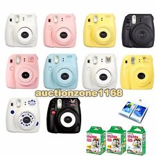 Fujifilm Instax Mini 8 Polaroid Instant Camera + Fuji 50 Film + Free Photo Album