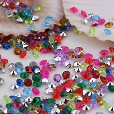2000 4.5mm Diamond Table Confetti Scatter Crystal Diamante Party Decorations