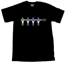 Table Football Birmingham City Black T-SHIRT ALL SIZES