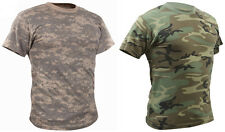 4777 Rothco Woodland Or ACU Camouflage Vintage Design Short Sleeve T-Shirt