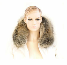 COLLAR FOR HOODS TRIMMING HIGH QUALITY FAUX FUR STRIPE FAKE FUR SCARF