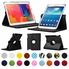 "Custodia PER SAMSUNG GALAXY TAB TABLET 7-10.1 ""pollici 360 Rotante SMART COVER SUPPORTO"