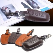 Promotion Natural leather Key Cover Case Holder For HYUNDAI 09-13 Genesis Sedan