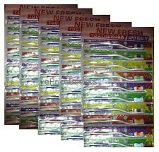 Lot 50 NEW SEALED Toothbrushes Wholesale - FREE SHIPPING for Retail