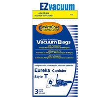 Eureka Style T Allergen Canister Vacuum Cleaner Bags # 61555A,E-61555B, 61555C