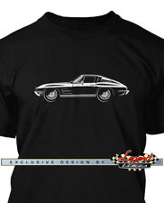 Chevrolet Corvette 1963 Split Window Men T-Shirt - Multiple Colors and Sizes