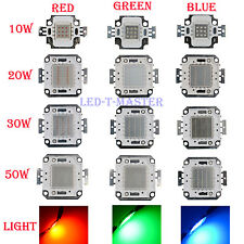 1/ 5 x 10W 20W 30W 50W Watt Red Green Blue LED Lamp light bright bulb Chip DIY