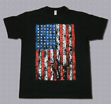 Fun T-Shirt, Drapeau de USA, Tailles: S bis XXL, (possible à 5XL, Surtaxe+3€)