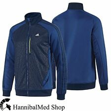 Adidas Originals Climalite 365 T-TOP Track Top Z21240 Blue Men's Running Jacket