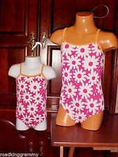 Girls 1 piece Old Navy Swimsuit - 6-12mon,12-18mon,18-24mon,2T,4T,5T Pink - NWT