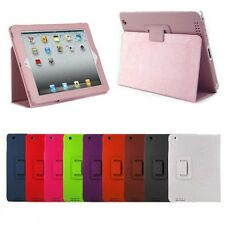 Slim Magnetic Folio Stand Case Cover for Apple iPad 2/3/4 2nd 3rd 4th Generation