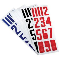 Nike Bauer Roller Ice Hockey Lacrosse Football Helmet Numbers Stickers 3-Pack