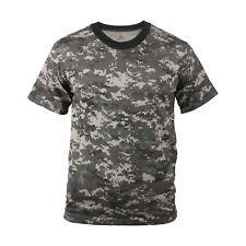 Digital Camouflage T-Shirt Subdued Urban Digital Camo Military Rothco 5960