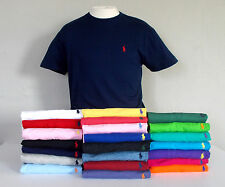 NEW! POLO RALPH LAUREN Mens CREW NECK  T-SHIRT SS  Embroidered Pony S M L XL XXL