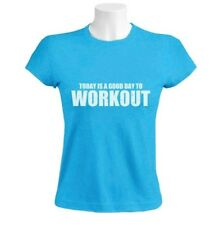 A Good day To Workout Women T-Shirt Gym Training Workout Inspiration Funny