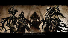 Darksiders Wrath of War Game Fabric poster 40