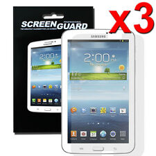 3 Pcs Clear Screen Protector Guard Film for Samsung Galaxy Smartphones & Tablets