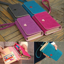 Envelope Card Wallet Leather Purse Case Cover For Samsung S3 S4 Iphone 4S 5S 5C