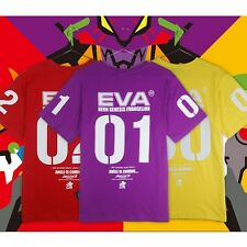 New Neon Genesis Evangelion EVANGELION Cotton Cosplay T-Shirt Fashion Anime