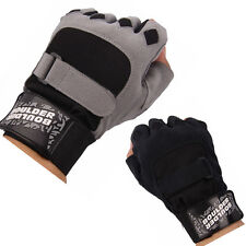 Gym Body Building Training Fitness Workout Exercise Sports Bicycle Gloves S-M-L