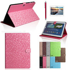 Bling Luxury Leather Case Cover Stand for Samsung Galaxy Tab Pro 10.1 T520 T525