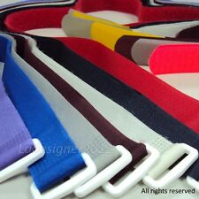 Velcro Hook and Loop colorful fastener strap in 20mm/25mm with variable length