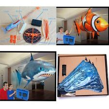1pc Kids Flying Fish Remote Control Inflatable Air Swimmer Blimp Balloon Toy ONE