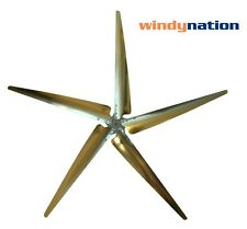 (5 Blade) WIND TURBINE GENERATOR BLADES and HUB 17 mm or 1/2 inch