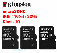 Kingston 32G 32GB 16G 16GB 8G 8GB 4G 4GB microSD SDHC Memory Card Class 10 10M/s