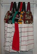 Football Sports NFL College Sports Hanging Kitchen Oven Dishtowel  HCF&D