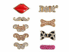 New 3D Cute Sexy Mouth Home Key Button Sticker For Samsung Galaxy S3 S4 Note 2 3