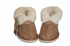 Australian Made genuine sheepskin Slipppers Chestnut colour For Multi Size