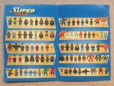 All Decool Custom Super Heroes Marvel  Minifigures Without Box #part 1