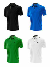 NEW 2014 Mens Mizuno Golf Clothing Flat Knit Laser Polo (Various Size, Colour)