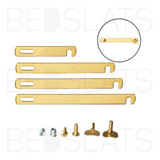 Divan Bed Linking / Connecting Bars Kit - Brass Plated / Gold - 4 Sizes