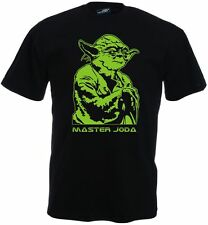 MASTER JODA Fun Shirt-star wars-dvd yoda alt Fun Shirt-S M L XL XXL 3XL 4XL 5XL