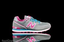 New Balance NB KL574JFG W Retro Casual Classic Suede Running Grey/Pink Sneakers