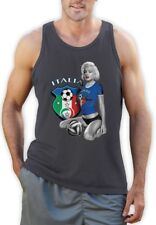 Marilyn Monroe ITALIA SOCCER Singlet National Team WORLD CUP 2014 Italy Vest Top