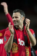 Ryan Giggs - Manchester United 2013/14 - A4/A3  Photo Print