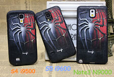 Stylish Amazing Spider Man Soft Case For Samsung S4 i9500 S5 i9600 Note 3 N9000