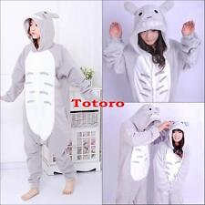 Hot Kigurumi Pajamas Anime Cosplay Costume unisex Adult Onesie Totoro Dress