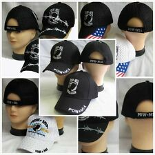 Pow-Mia Bob Flag BASEBALL CAP HAT ADJUSTABLE (FIVE STYLES)