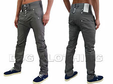 Mens Designer Humor Jeans Zanka Style Low Arc Drop Crotch Trendy Fashion Chinos