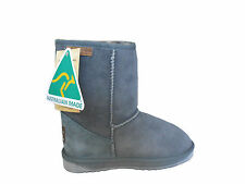 Australian Made Genuine Sheepskin Classic Short UGG Boots Grey Colour