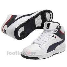Men's Puma Rebound FS 4 Mid 354909 09 Shoes Basket Casual White