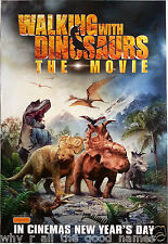 Movie Poster WALKING WITH DINOSAURS - THE MOVIE Kids Animation Film Memorabilia