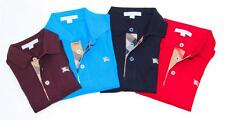 NEW Authentic BURBERRY BRIT Boys Polo Shirt T-Shirt Size 2 3 Years Long Sleeve