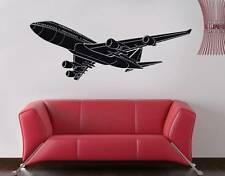 BOEING 747 AIRPLANE Decal WALL STICKER Home Decor Art ALL COLORS & SIZES ST59