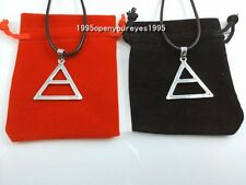 30 Seconds To Mars Triad Silver Triangle Jared Echelon Necklace /JARED LETO
