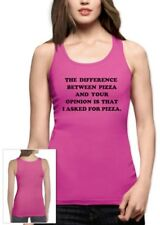 I Asked For Pizza Women Tank Top PIZZA Tumbler Fashion Dope Swag quote Unicorn